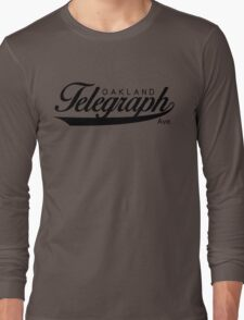 Telegraph Avenue (Oakland) Long Sleeve T-Shirt