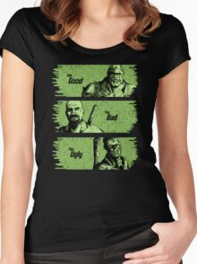 The Mutant, The Raider, The Ghoul Women's Fitted Scoop T-Shirt