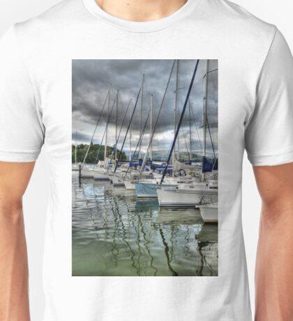 Yachts on Lake Windermere Unisex T-Shirt