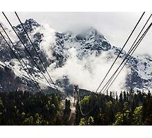 Journey to the Mountain Top Photographic Print