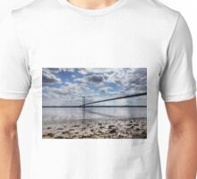 Swans at Humber Bridge Unisex T-Shirt