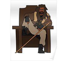 The Walking Dead Ezekiel The Kingdom Poster