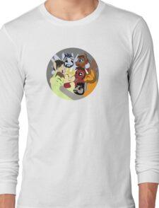 Hockey Ruining Ponies Hug Long Sleeve T-Shirt