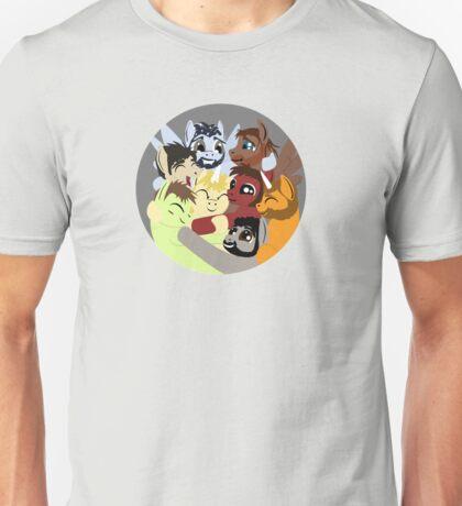 Hockey Ruining Ponies Hug Unisex T-Shirt