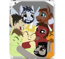 Hockey Ruining Ponies Hug iPad Case/Skin