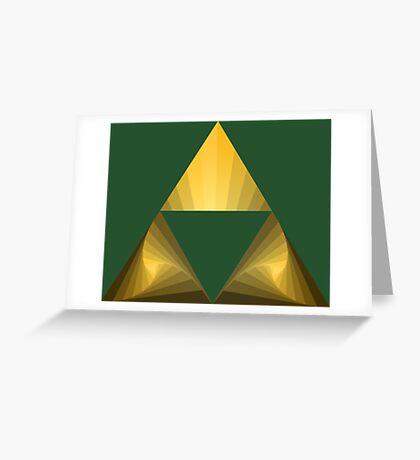 Triforce Greeting Card