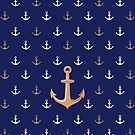Nautical Anchor Pattern by Media Jamshidi