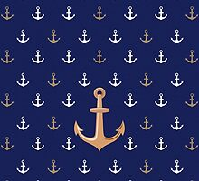 Nautical Anchor Pattern by Media Jamshidi