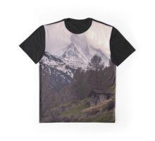 Mountains Peak Graphic T-Shirt