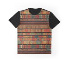 Vintage Library at Chateau Chantilly, Paris FRANCE Graphic T-Shirt