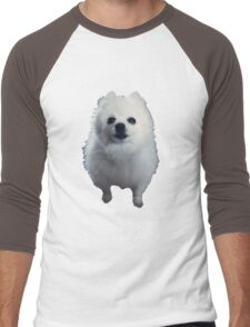Gabe the Dog Men's Baseball ¾ T-Shirt