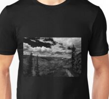 Giron Valley - BW Unisex T-Shirt