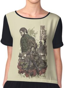 The Last Of Us Artwork Chiffon Top