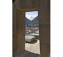 Trapezoidal Doorway Photographic Print