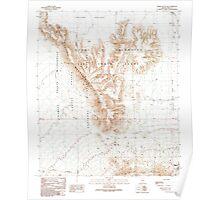 USGS TOPO Map Arizona AZ Childs Mountain 310850 1990 24000 Poster