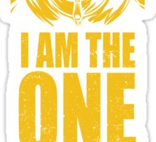I am the one who catches Sticker