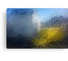 Condensation 03 - White House and Yellow Lorry Canvas Print