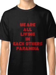 Mr Robot Paranoia Classic T-Shirt