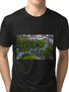 Parque Calderon - Cuenca, Ecuador Tri-blend T-Shirt
