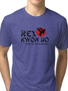 Rex Kwon Do - Bow to your sensei Tri-blend T-Shirt