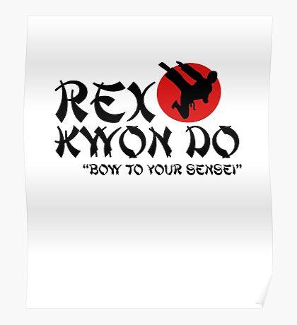 Rex Kwon Do - Bow to your sensei Poster