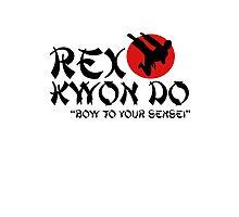 Rex Kwon Do - Bow to your sensei Photographic Print