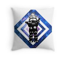 The Forbidden Robot Throw Pillow