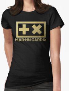 martin garrix gold texture Womens Fitted T-Shirt