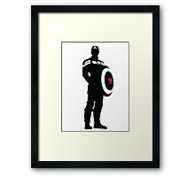 The First Avenger - Captain America Framed Print