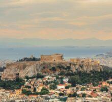 Overlooking Athens Sticker