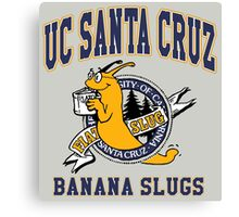 Santa Cruz Banana Slug Fiction Canvas Print