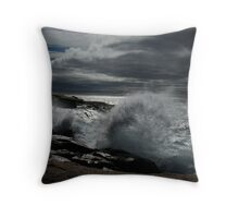 Peggy's Cove Splash II Throw Pillow