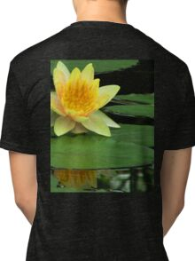 Yellow Water Lily Tri-blend T-Shirt