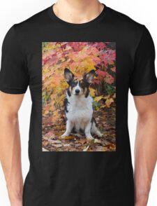 Yogi in Fall Colors Unisex T-Shirt