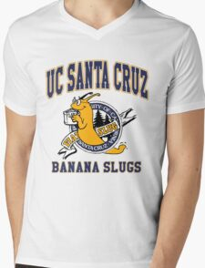 Santa Cruz Banana Slug Fiction Mens V-Neck T-Shirt