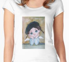 Angel 1 Women's Fitted Scoop T-Shirt