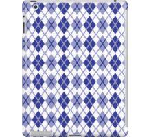 Rombi blu iPad Case/Skin