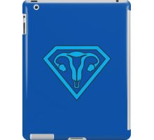 Uterus Hero Blue iPad Case/Skin