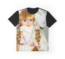 Blue Eyes, Bows and Bonnet Graphic T-Shirt