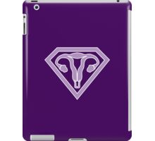 Uterus Hero Lavendar iPad Case/Skin