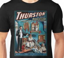 Performing Arts Posters Thurston the great magician the wonder show of the universe 1630 Unisex T-Shirt