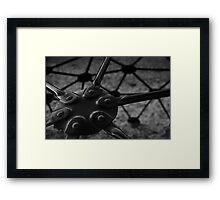 Geodome Climber II Framed Print