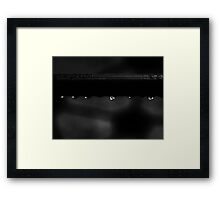 Wet Bar Framed Print