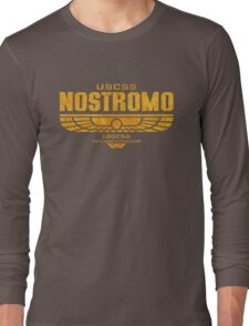 Alien Nostromo logo Long Sleeve T-Shirt