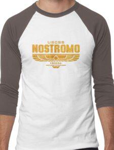 Alien Nostromo logo Men's Baseball ¾ T-Shirt
