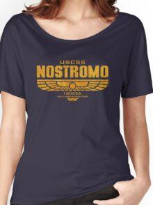 Alien Nostromo logo Women's Relaxed Fit T-Shirt