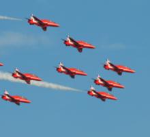 RAF Red Arrows Sticker