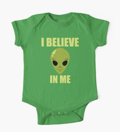 Funny Alien T Shirt One Piece - Short Sleeve