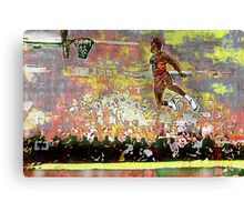 Jordan Firewoks Version - www.art-customized.com Canvas Print