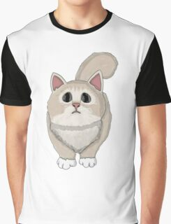 Cute sadly cat Graphic T-Shirt